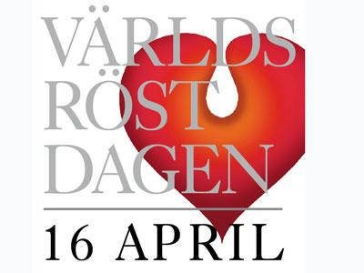Världsröstdagen 16 april
